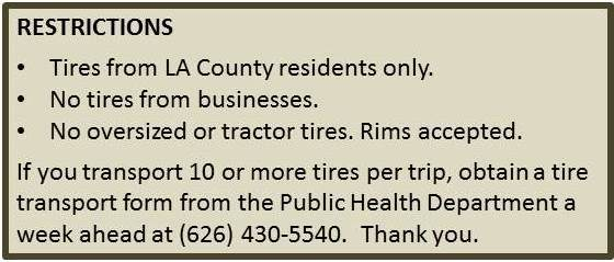 Tire Recycling Events