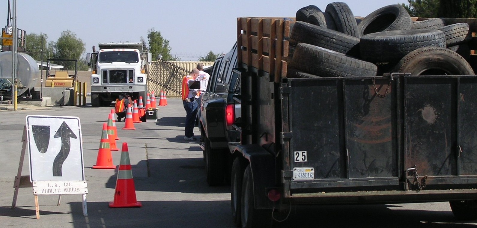 Waste Tire Recycling Information Los Angeles County