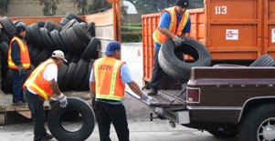 Waste Tire Recycling - Los Angeles County Department of Public Works