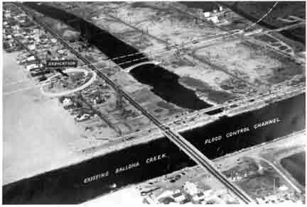 Site of Marina del Rey, circa 1957