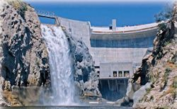 Photo Taken After Big Tujunga Dam Seismic Rehabilitation and Spillway Modification Project